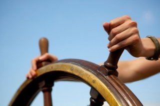 Steering A Boat